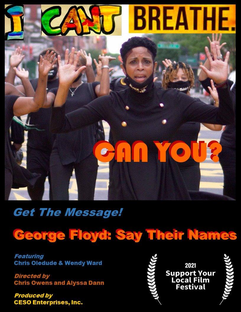 GEORGE FLOYD: SAY THEIR NAMES